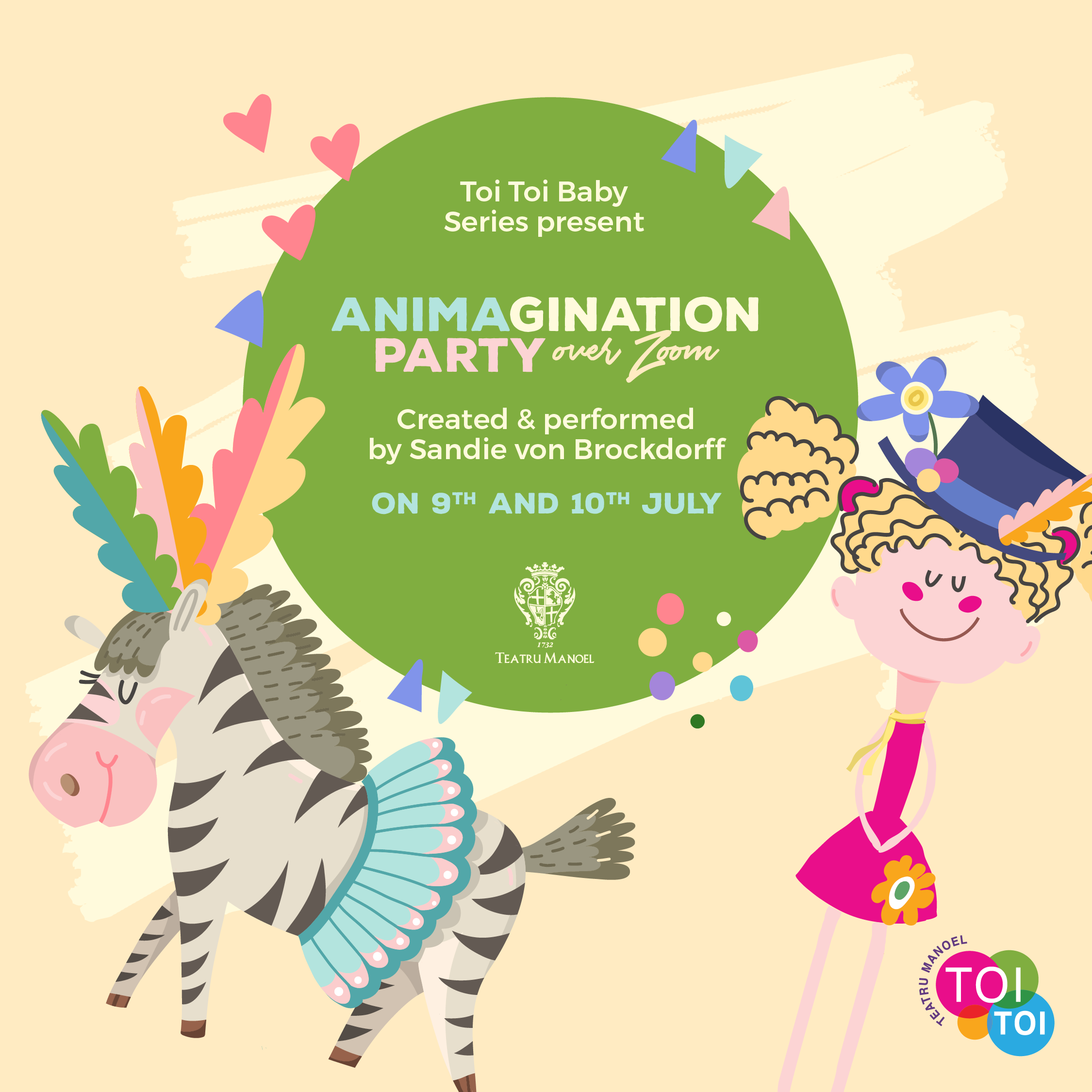 Toi Toi Baby Show: Animagination Party